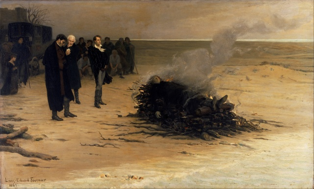 Louis_Edouard_Fournier_-_The_Funeral_of_Shelley_-_Google_Art_Project