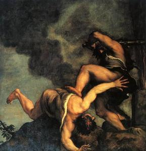 (Cain and Abel by Titian)