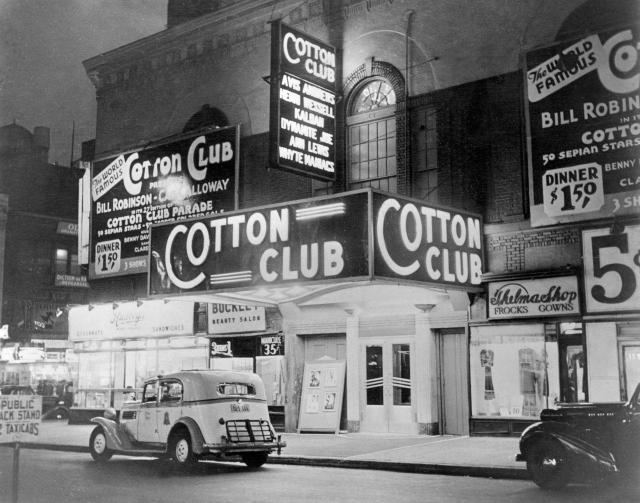 (The famous Cotton Club in Harlem)